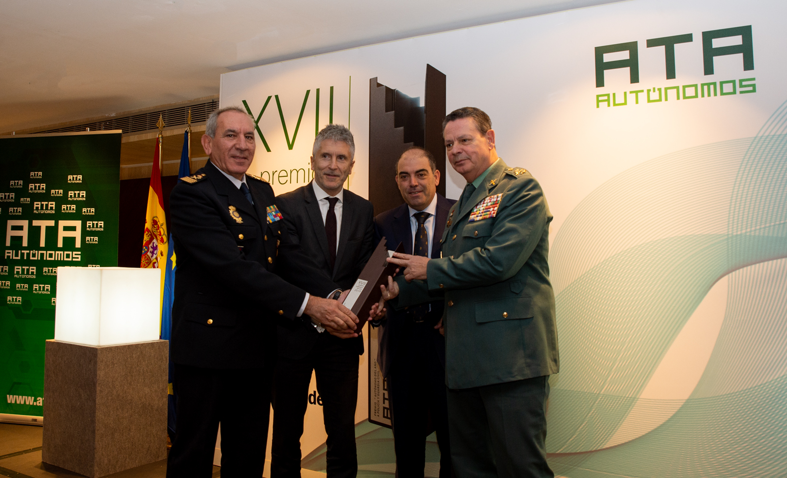 Premio a Policia y Guardia Civil